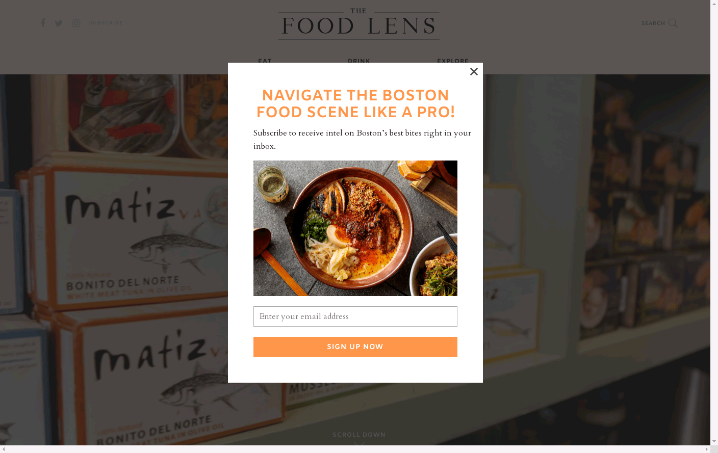 The Food Lens