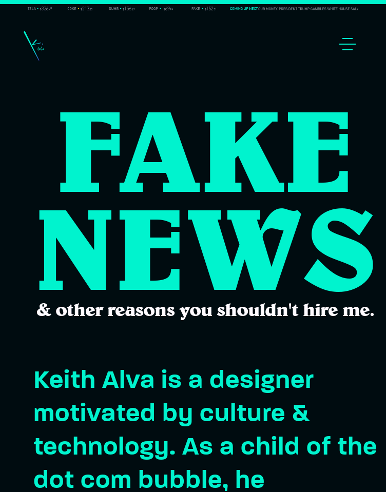 Keith Alva  Web Design