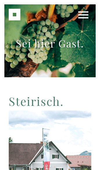 Buschenschank Gnaser  Web Design