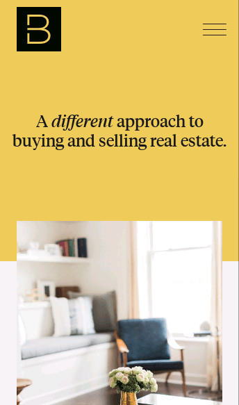 Berdan Real Estate  Web Design