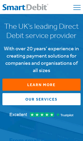 SmartDebit  Web Design