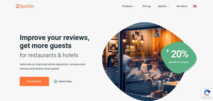 Improve your reviews and get more guests with SpotOn