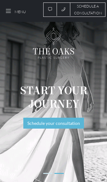 The Oaks Plastic Surgery  Web Design