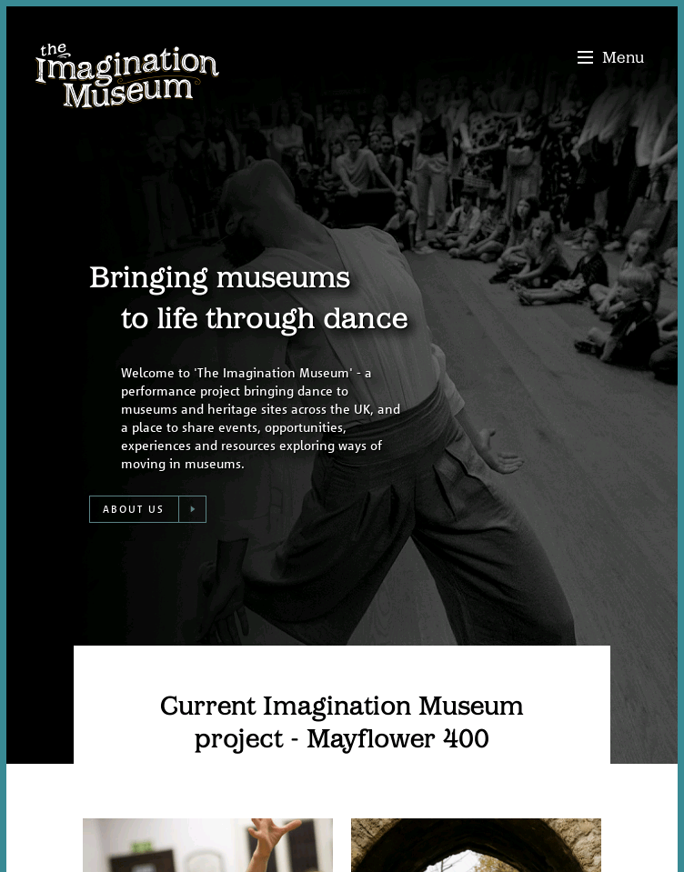 The Imagination Museum  Web Design