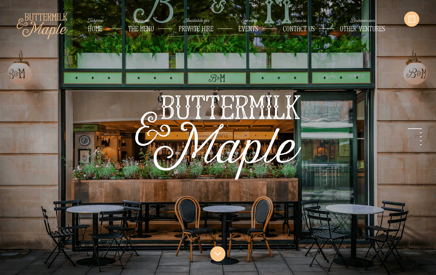Welcome to Buttermilk and Maple
