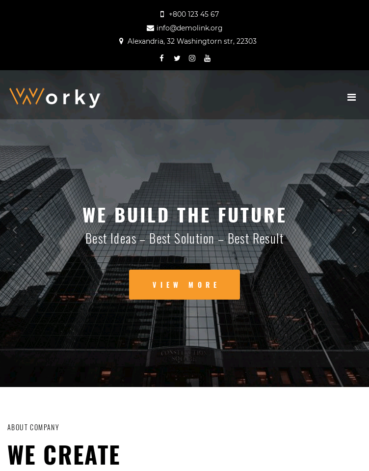 Worky  Web Design