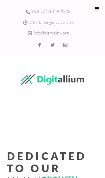 Digitallium  Web Design