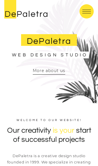 Buy DePalestra Template  Web Design