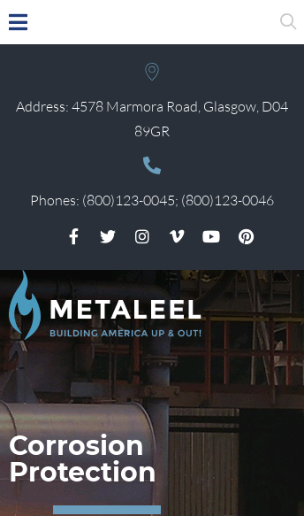 Wordpress Theme - Metaleel  Web Design