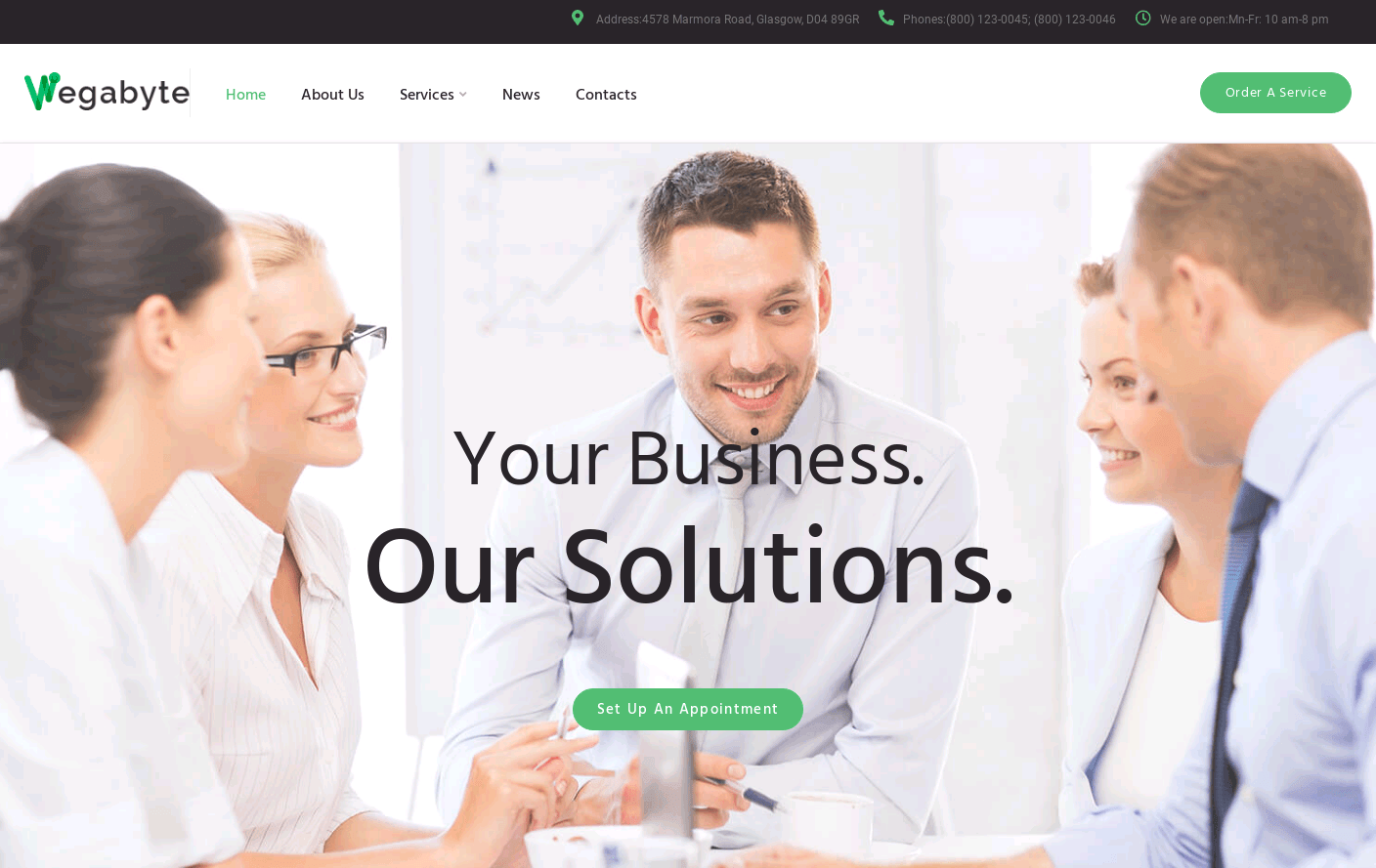 Wordpress Theme - WegaByte