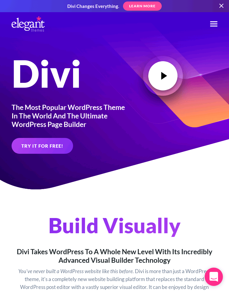 Divi WordPress Theme  Web Design