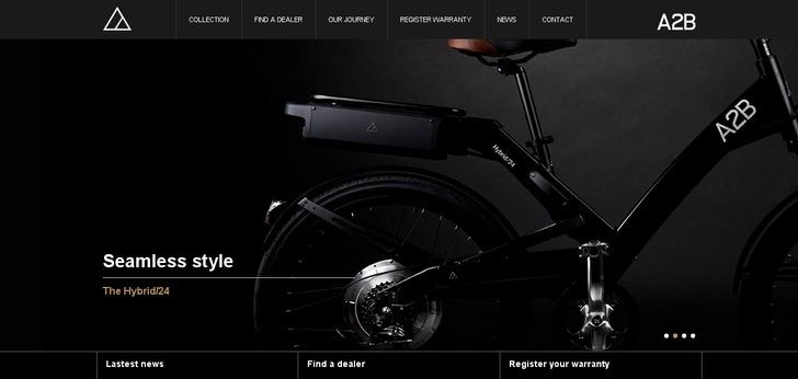 A2b Bikes Website Has A Great Web Design Best Web Designs