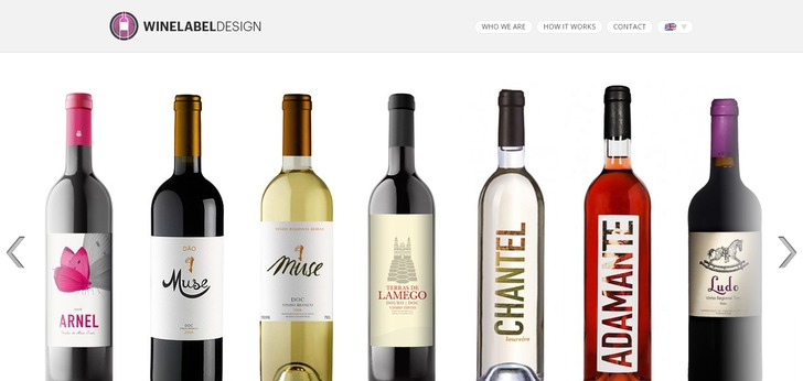 We are specialized in wine label design, wine logos, wine packaging ...: www.webdesign-inspiration.com/web-design/winelabeldesign-org-6490