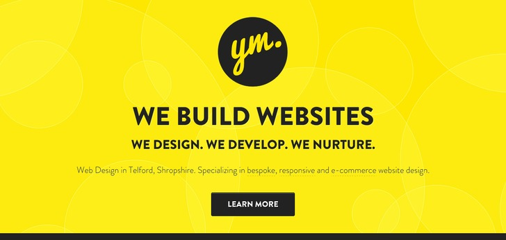 Yellow Marshmallow Website Has A Great Web Design Best